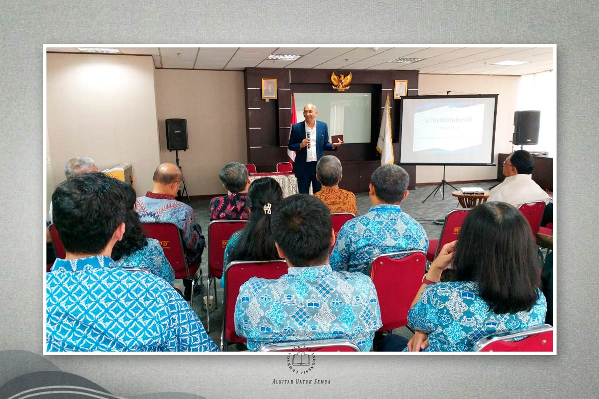 Sharing Nilai-nilai Strategis Pelayanan Lembaga Alkitab