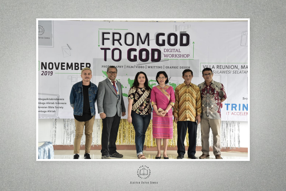 From God To God Digital Worshop  Malino