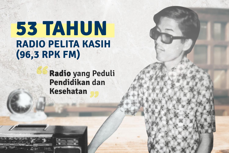 """53 Tahun Radio Pelita Kasih (RPK):  """"Radio yang Peduli Pendidikan dan Kesehatan"""