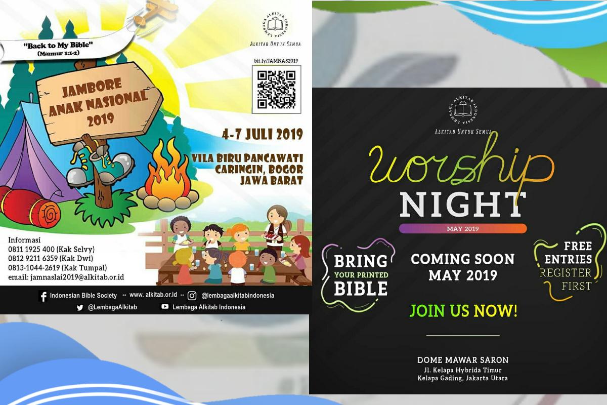 Worship Night dan Jamnas LAI