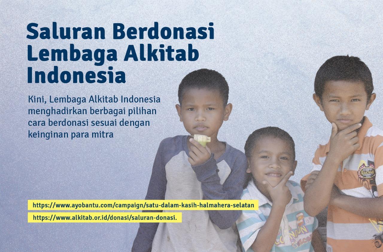 Saluran Berdonasi Lembaga Alkitab Indonesia