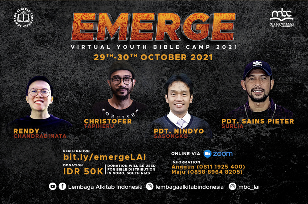 Emerge Virtual Youth Bible Camp 2021