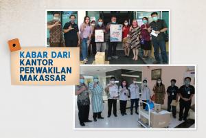 Paket Bantuan untuk RS Dr. Wahidin Sudirohusodo, Makassar