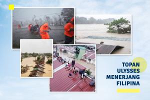 Topan Ulysses Menerjang Filipina