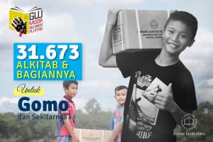 31.673 Alkitab untuk Gomo dan Sekitarnya