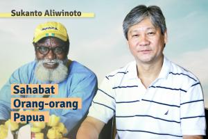 Sukanto Aliwinoto: Sahabat Orang-orang Papua