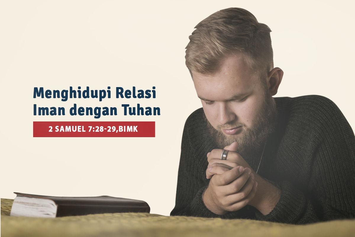 Menghidupi Relasi Iman Dengan Tuhan